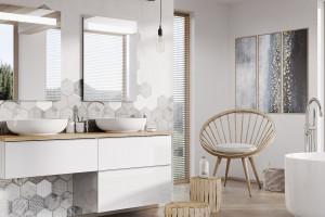 Biała łazienka - sterylne i ponadczasowe wnętrze