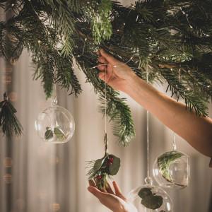 Dekoracje świąteczne według pomysłów firmy Vox. Fot. Vox