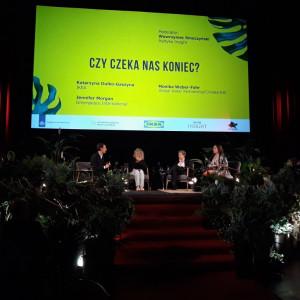 Jedna z dyskusji z udziałem przedstawiciela IKEA. Fot. IKEA