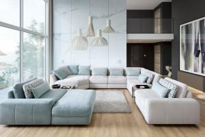 Jak dobrać sofę do salonu - skorzystaj z konfiguratora!