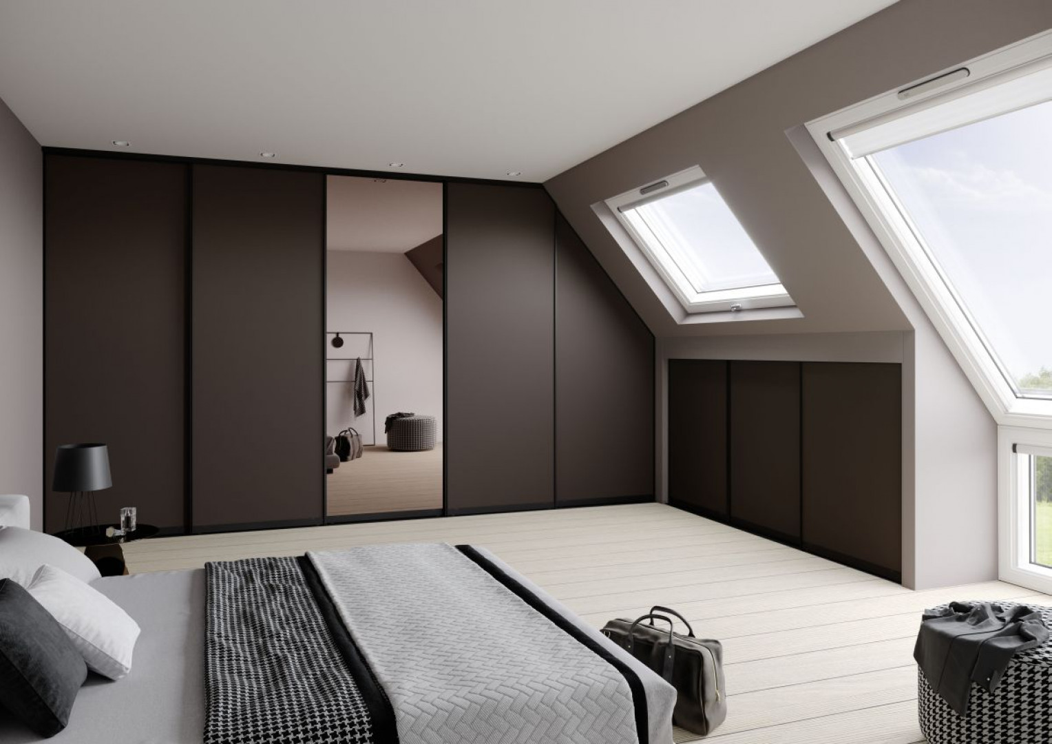 Urządzamy Jak Urządzić Sypialnię Na Poddaszu Meblecompl