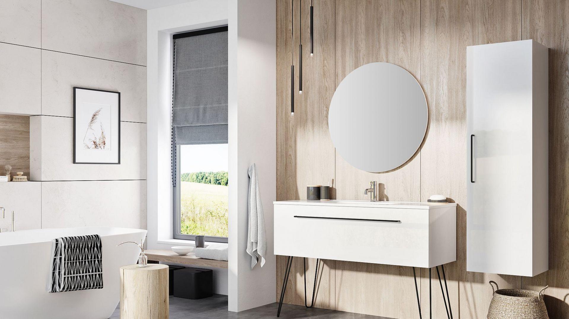 Kolekcja mebli łazienkowych Futuris firmy Elita. Fot. Elita