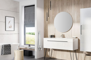 Nowoczesna łazienka: zobacz piękną kolekcję mebli