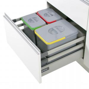 System segregacji odpadów Comfort Box. Fot. Rejs