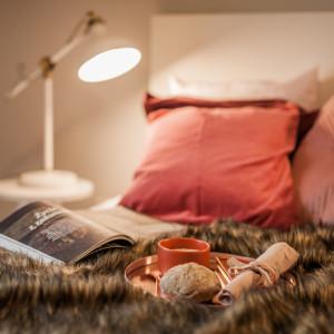 Poduszki w Kolorze Roku 2019 według Instytutu Pantone, czyli Living Coral. Fot. Kodo