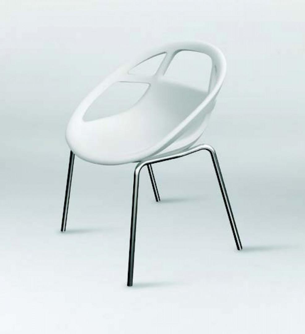 "Krzesło ""Lola"" marki Casprini. Projekt: Marcello Ziliani. Fot. Casprini"