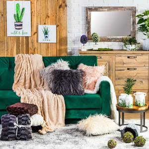 Naturalność w czystej postaci, czyli styl rustykalny, cieszyć się będzie coraz większą popularnością w 2019 roku. Fot. Agata