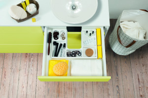 Dobrze zaprojektowana łazienka - akcesoria meblowe