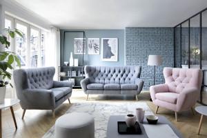 Trendy na 2019 rok: najmodniejsze style meblowania salonu