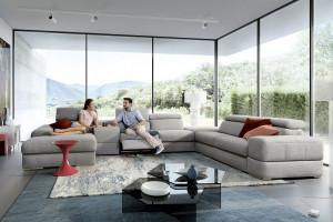 15 pięknych sof w jasnych, ciepłych kolorach