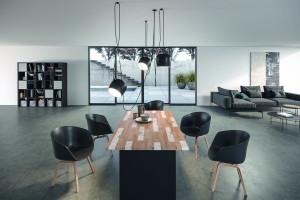 Jakie dekory wybierają producenci mebli salonowych i jadalnianych?