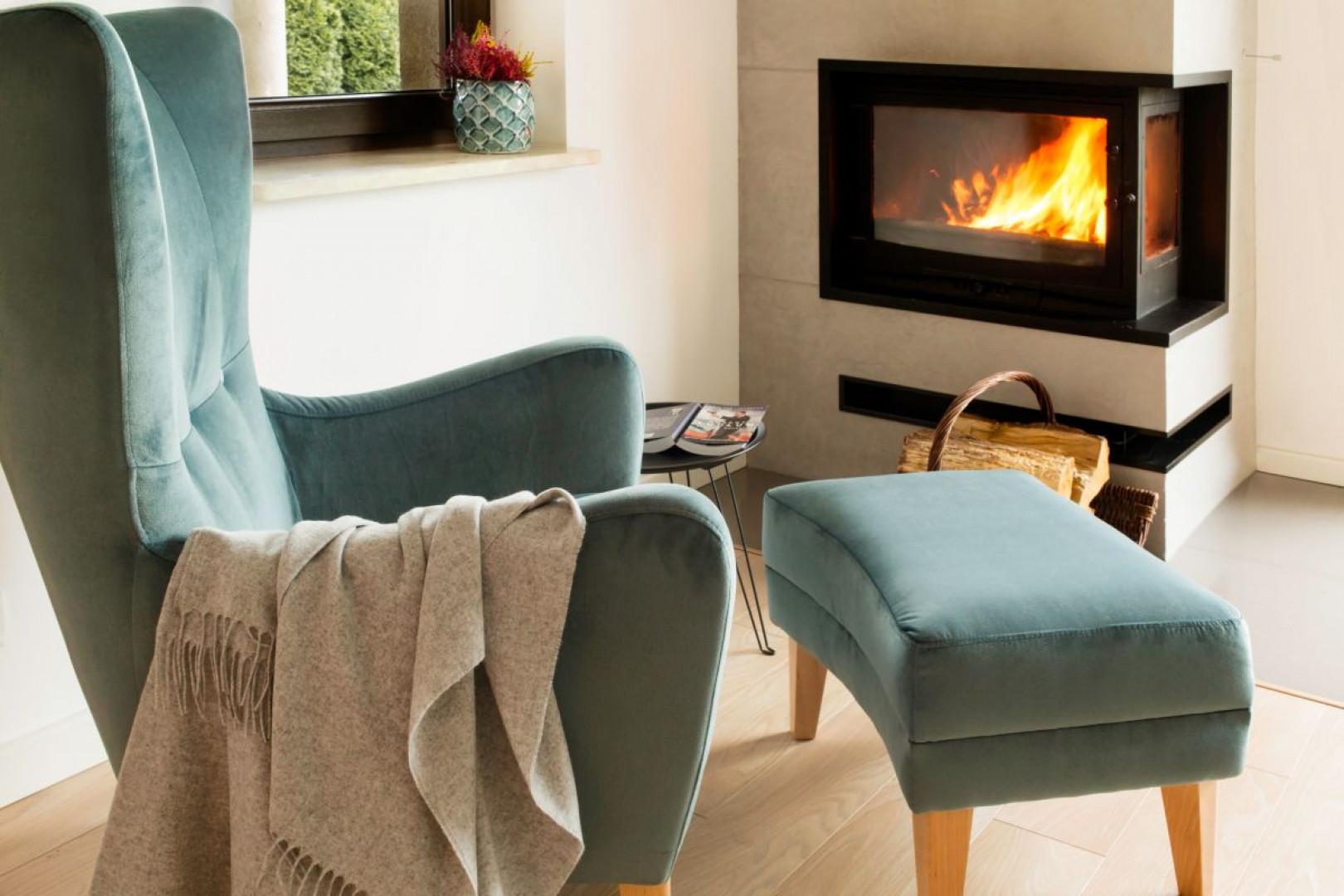 Projektowany dom miał być przejrzysty i czysty, ale jednocześnie przytulny i pełen domowego ciepła. Projekt: Kinga Świątek-Wolna. Fot. Make Home