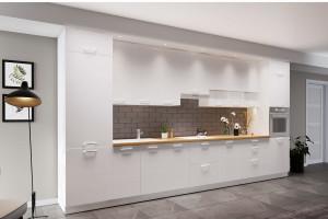 Meble kuchenne: wybierz wyższe szafki wiszące