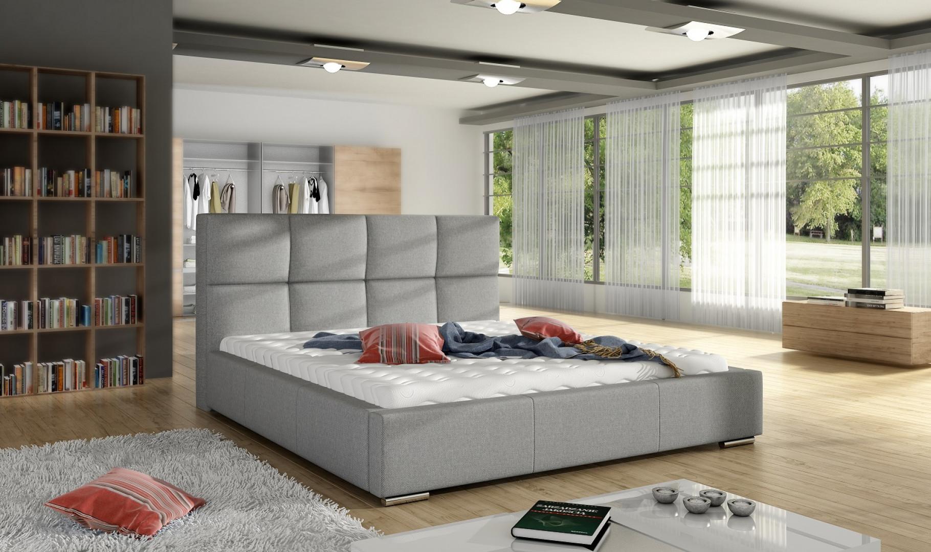 Łóżko tapicerowane Stella marki Comforteo