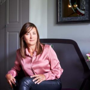 Anna Koszela, projektantka wnętrz.