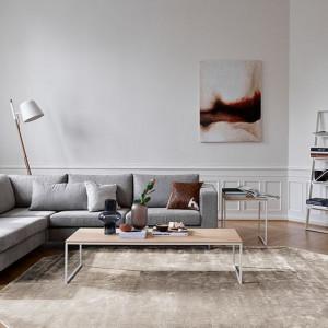 Salon w stylu hygge według BoConcept. Fot. BoConcept
