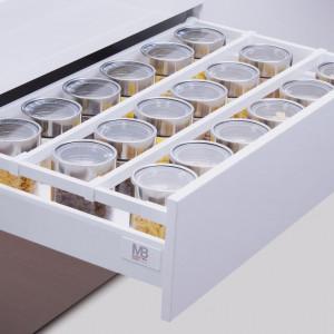 Atrakcyjny design nie powinien oczywiście przysłaniać komfortu pracy szuflady i być jej jedynym atutem. Fot. GTV