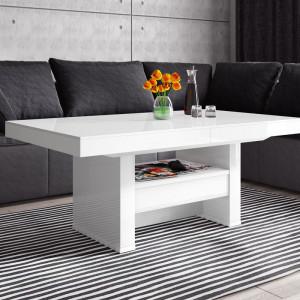 Ławostół Aversa Lux w białym połysku. Fot. Hubertus Design