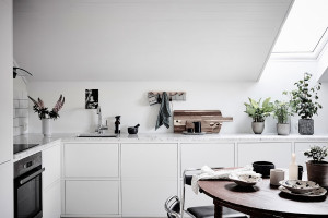 Aranżacja kuchni na poddaszu - o czym należy pamiętać