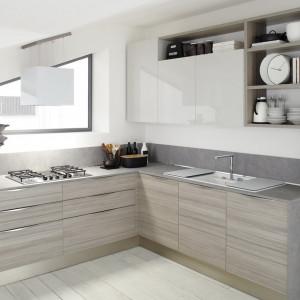 Kuchnia na poddaszu firmy Veneta Cucine. Fot. Veneta Cucine