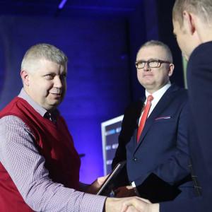 W imieniu firmy Rejs dyplom odebrał Michał Pesta, dyrektor sprzedaży. Fot. PTWP