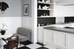 Jak wykończyć ściankę nad kuchennym blatem - trzy propozycje aranżacyjne