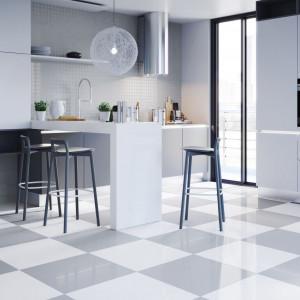 Projektując ścianką nad blatem kuchennym, warto zwrócić nuwagę nie tylko na kolor płytek, ale też rodzaj ich wykończenia. Fot. Cerrad