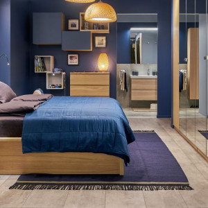 Sypialnia według IKEA. Fot. IKEA