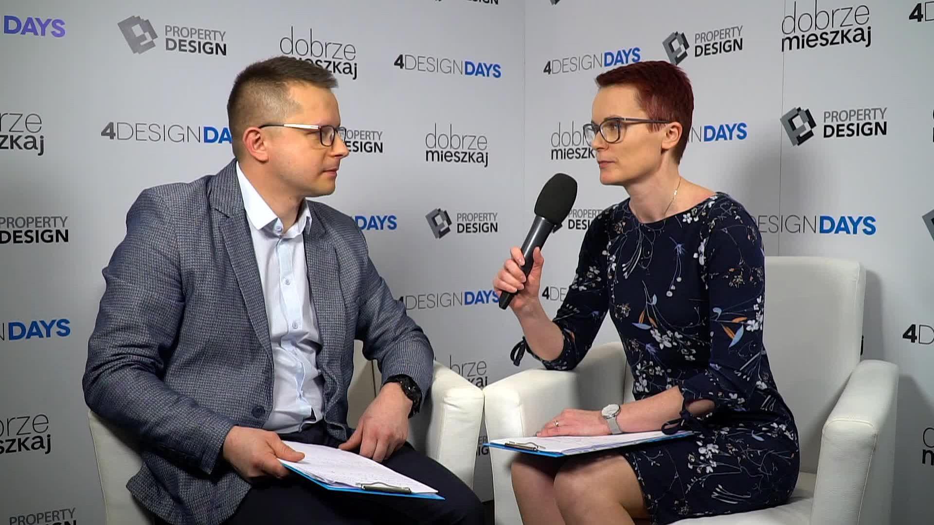 Mariusz Sieradzki, technolog w Dziale Badań i Rozwoju firmy Rejs podczas 4 Design Days 2019. Fot. PTWP