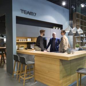 Living Kitchen 2019 - stoisko Team 7. Fot. Mat. prasowe Koelnmesse
