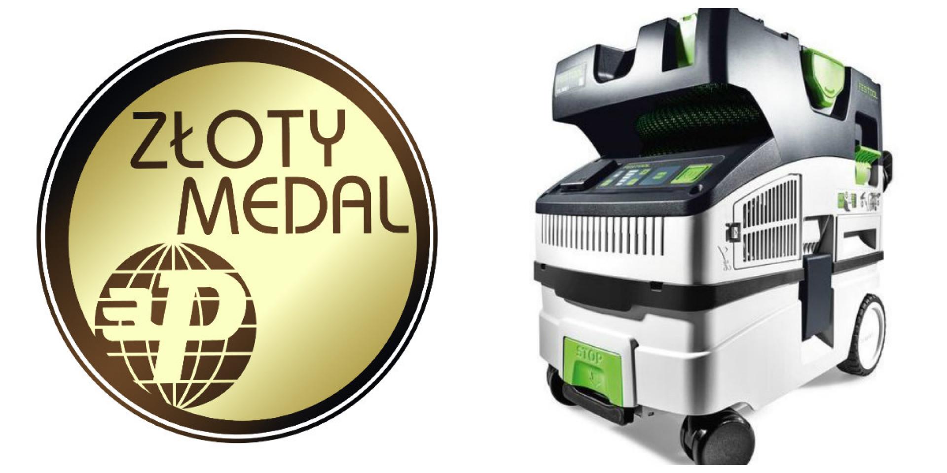 Mobilny odkurzacz CTM Midi otrzymał Złoty Medal targów Budma 2019. Fot. Festool