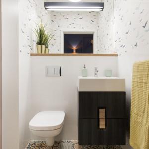 Łazienka jest przemyślana w każdym detalu. Fot. Kodo