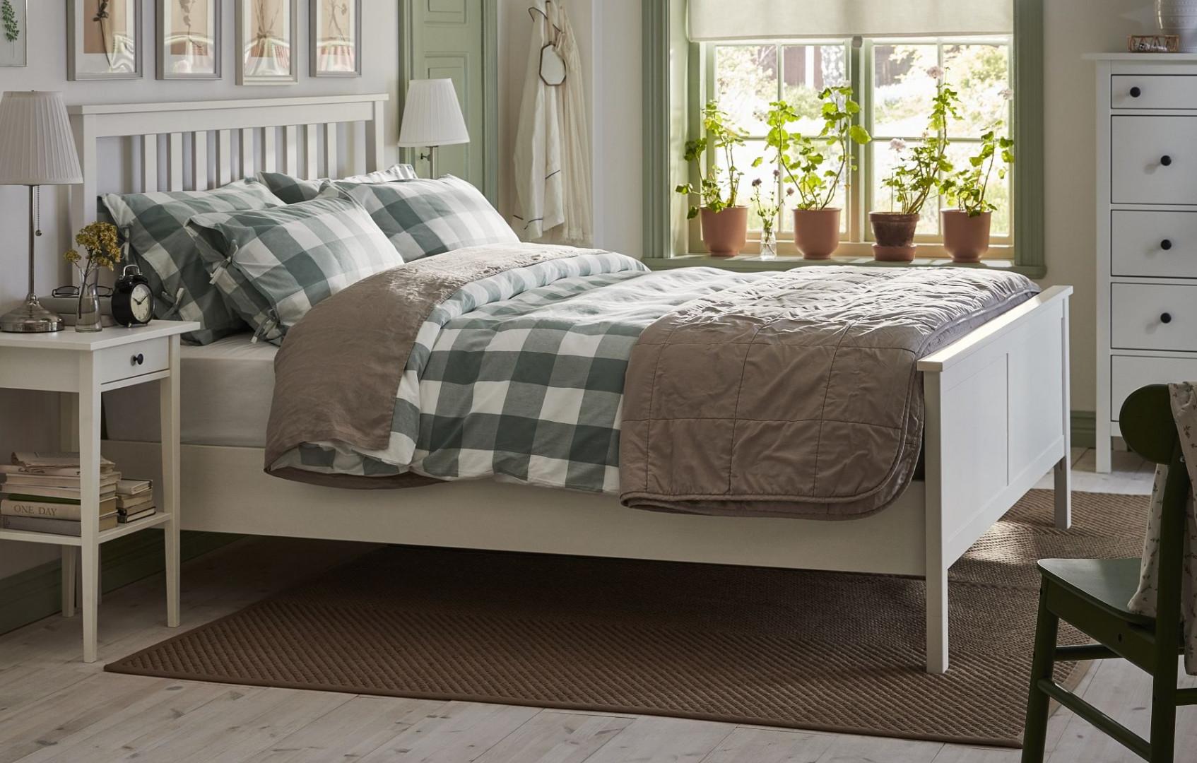 Łóżko firmy IKEA. Fot. IKEA