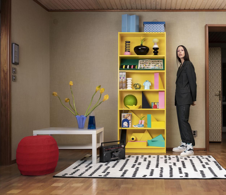 Nowa odsłona regału Billy. Fot. Mat. prasowe IKEA