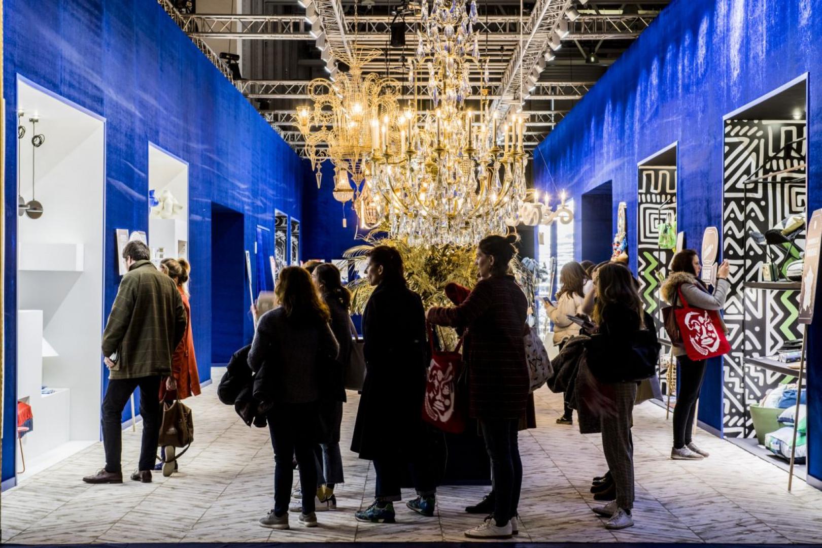 """W tym roku styczniowe targi """"Maison & Objet"""" odwiedziło 84.236 gości ze 160 krajów. Fot. Serwis targów """"Maison & Objet""""/ Aethion"""