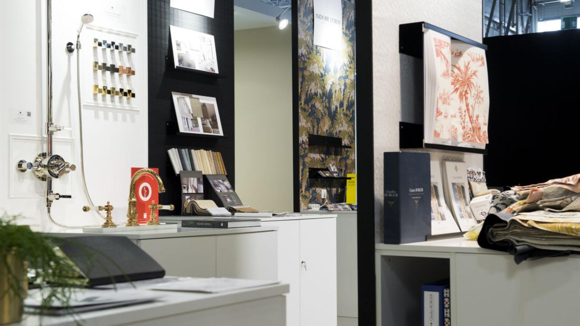 """Stoisko firmy Interieur Studio. Fot. Serwis targów """"Maison & Objet""""/ Aethion"""