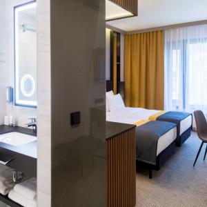 Łazienka w Grand Ascot Hotel. Fot. Abet Laminati