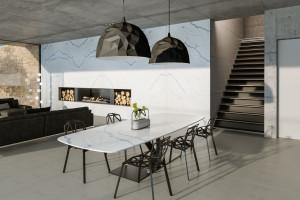 Konglomerat kwarcowy - funkcjonalny i designerski blat w kuchni