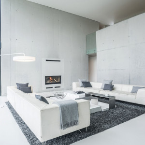 Nagroda główna - projekt domu jednorodzinnego, przeznaczony dla rodziny 5-osobowej, zlokalizowany w Katowicach. Autor projektu: Seweryn Nogalski (Beton House)