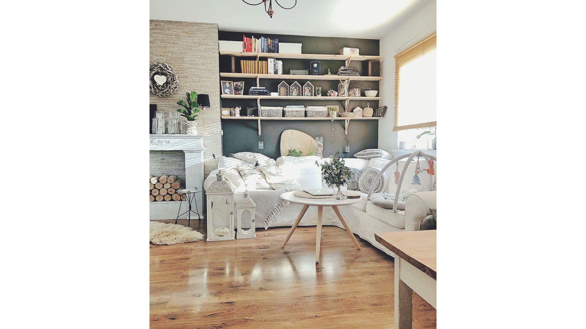 Mieszkanie na piętrze domu jednorodzinnego, zlokalizowane w Gliwicach. Autorka: Justyna Majewska