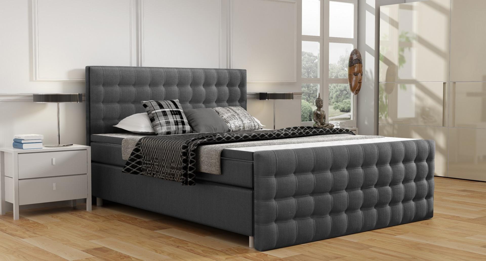 Łóżko kontynentalne New York marki Comforteo. Fot. Comforteo