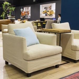 Ekspozycja firmy Primavera Furniture. Fot. Marcin Myszka