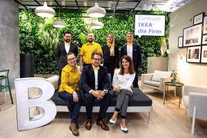 IKEA wyposaży biura do wynajęcia