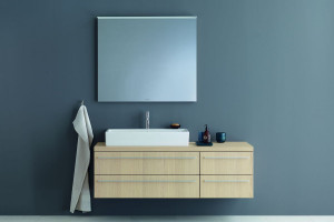 Meble łazienkowe - wiszące konsole do niewielkich wnętrz