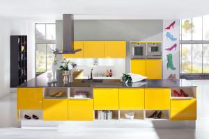 Kuchenne wnętrza ożywione kolorem - zobacz 40 inspiracji!