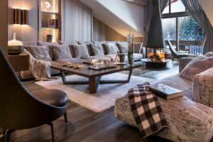 Zobacz meble marki Flexform w luksusowym alpejskim hotelu!
