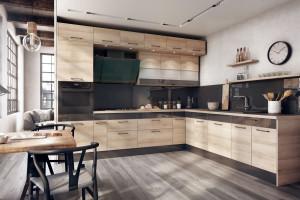 Trendy w meblarstwie: kuchnia z elementami czerni
