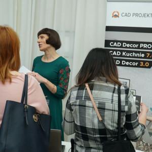 Stoisko firmy CAD Projekt C&A.