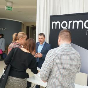 Stoisko firmy Marmorin Design. Fot. Publikator