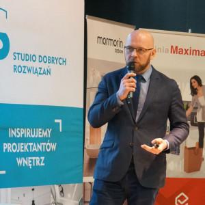 Paweł Jędrzejewski mówił, jak kreować własną markę w internecie. Fot. Publikator